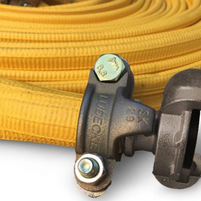 One Flat Air flatlay hose with compressed air coupling