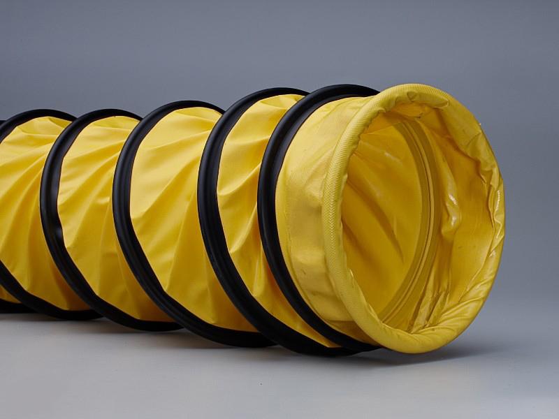 furtun ventilatie flexadux galben